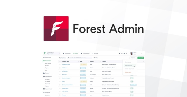 Forest Admin